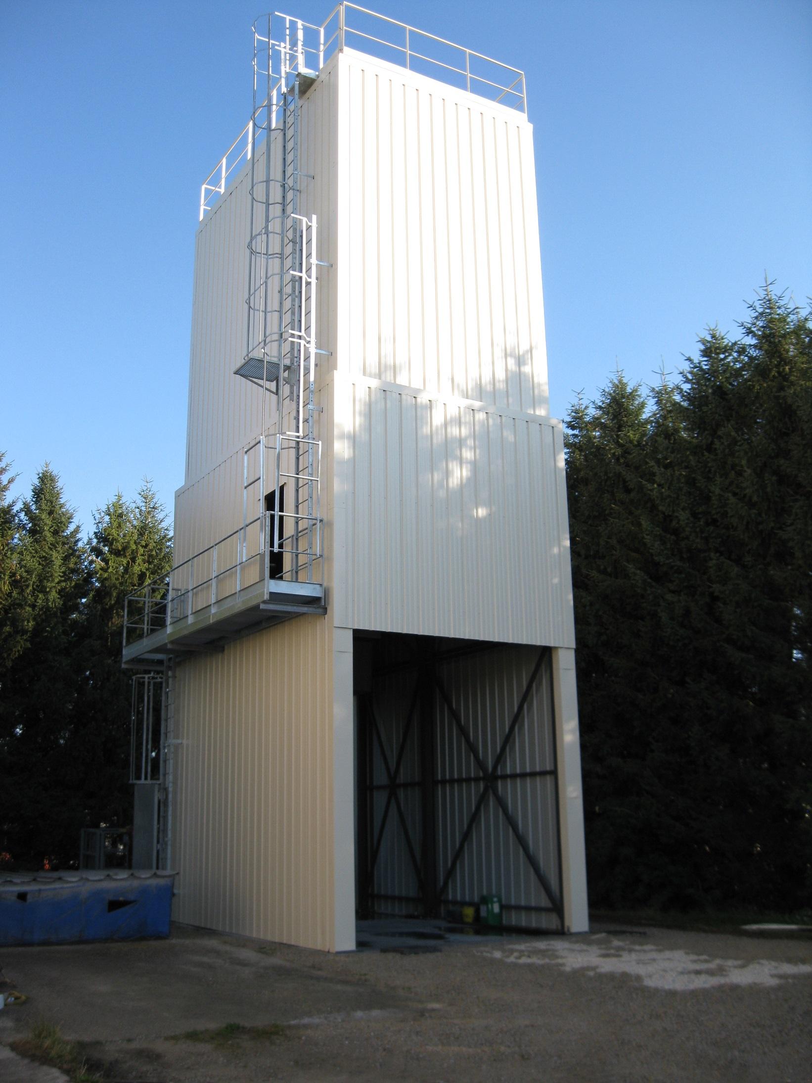 Silos de stockage grain Midi Pyrénées: Silo à son