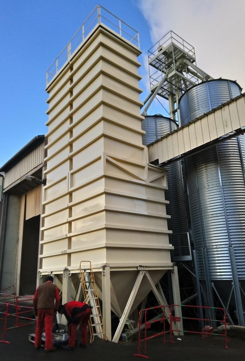 Silos de stockage grain Midi Pyrénées: Silo sur mesures